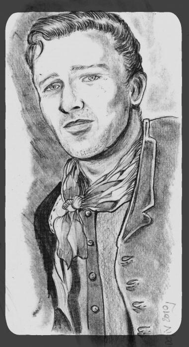 John Wayne by didgiv